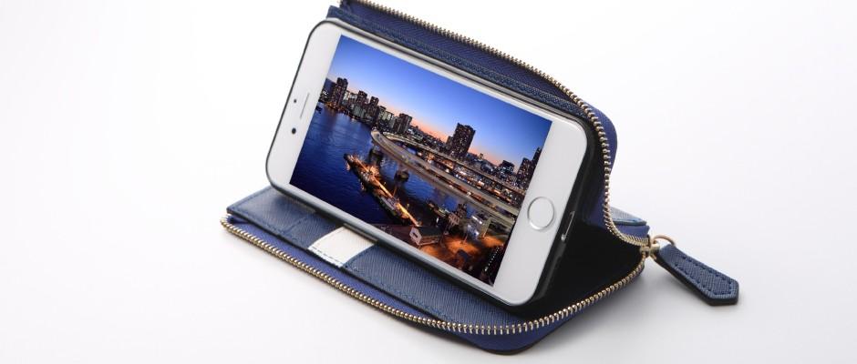 e8c8c28dfe ディーフ ROUND ZIP CASE for iPhone 7 Plus グレー DCS-IP7PRZGY - NTT ...
